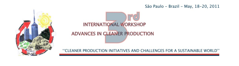 3rd International Workshop | Advances In Cleaner Production